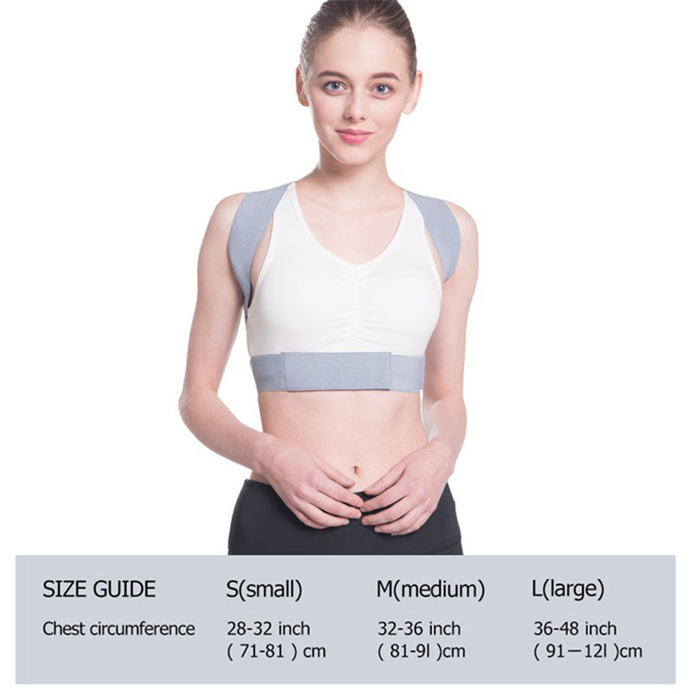 Adjustable Posture Corrector Belt for Clavicle and Spine Support Helps to Relief Back Pain Suitable for Unisex 4
