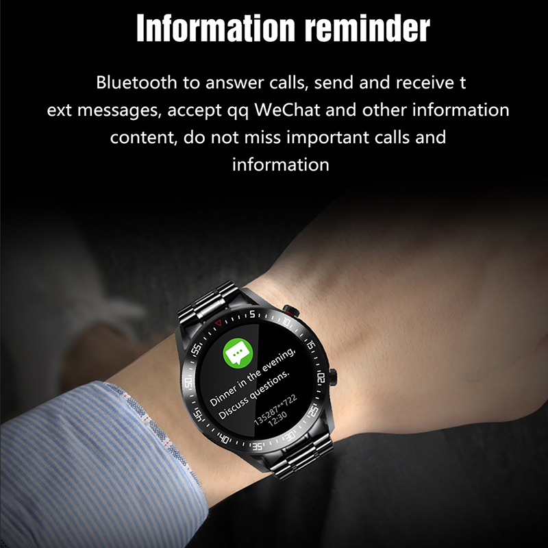 LIGE 2021 New Full circle touch screen Mens Smart Watches IP68 Waterproof Sports Fitness Watch Man LIGE 2021 New Full circle touch screen Mens Smart Watches IP68 Waterproof Sports Fitness Watch Man Luxury Smart Watch for men
