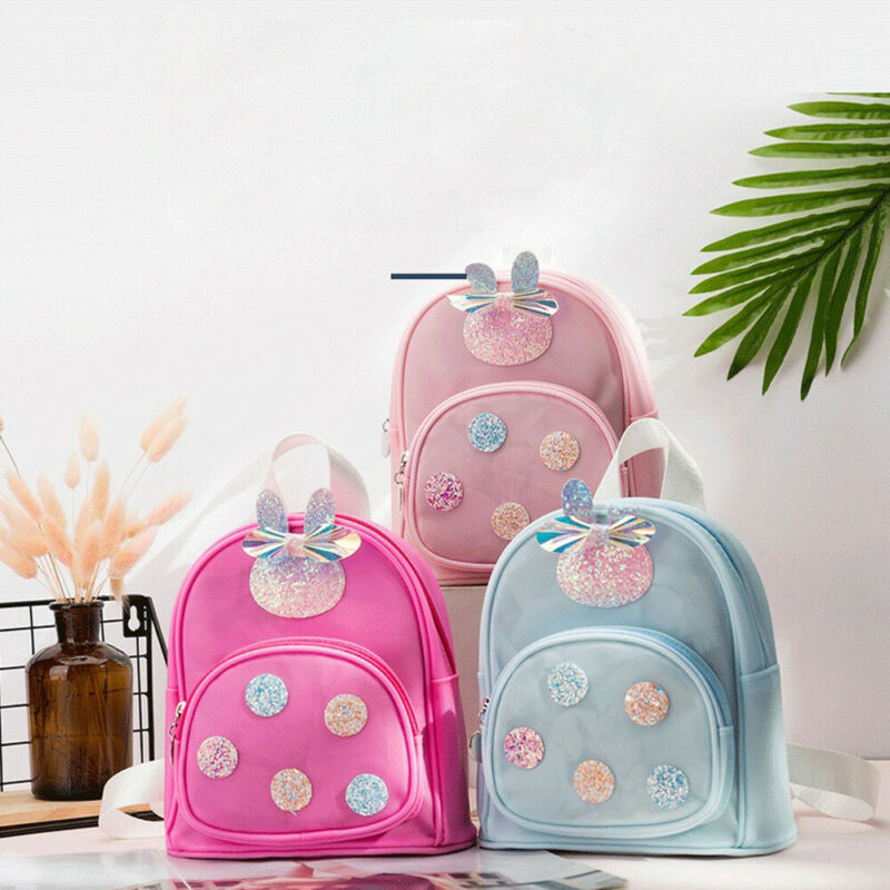 2020 Cute Toddler Schoolbag Kid Children Boy Girl Jelly Cartoon Animal Backpack School Bag Students Rucksack