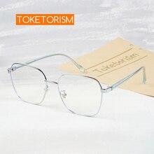 Light-Glasses Prescription-Frame Toketorism Blue Women Fashion 820020