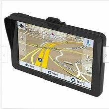 LSON 7 дюймов Автомобильный Gps навигатор сенсорный экран Sat Nav карта Navitel Россия полная Европа