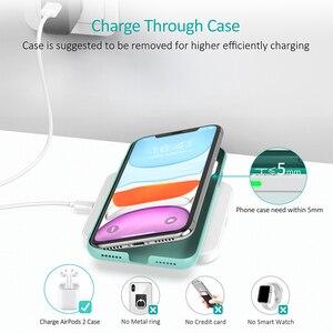 Image 4 - CHOETECH Wireless Pad Caricabatterie Per Il Samsung S10 S9 S8 Nota 10 9 10W Veloce Wireless Pad di Ricarica per iPhone 11 Xs Max Xr X 8 8 Più