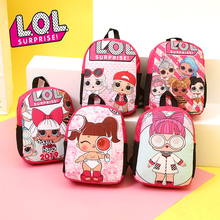 New Original LoL Surprise Dolls Children's Backpack for Girls Cute Bag LOL Fashion Korean Bags Trendy Backpacks