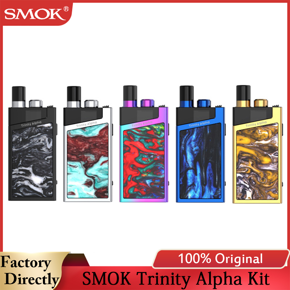 SMOK Trinity Alpha Kit 1000mAh 2.8ml Cartridge 1000mAh 2.8ml Cartridge Electronic Cigarette Vape Vaporizer Vs Smok Mico