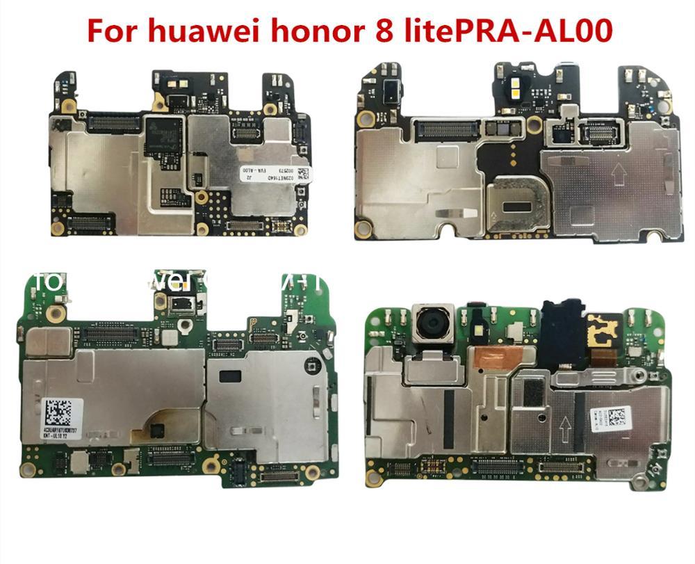 Plein fonctionnement 100% Original débloqué pour huawei honor 8 lite PRA-AL00X(4 + 64G) carte mère pour Huawei honor 8 lite carte mère journal