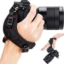 ปรับQuick Releaseสายคล้องข้อมือสำหรับFuji Fujifilm XH1 XPRO2 XPro1 XT3 XT2 XT30 XT20 XE3 GFX 50R X100V XT4 XT20 GFX 50S