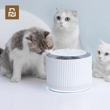 Youpin akıllı kedi Pet su sebili su arıtıcısı 1.88L 5 katmanlı filtre 360 derece açık içme tepsisi hayvan içme çeşmesi