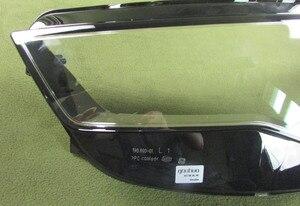 Image 5 - ヘッドライト透明カバーランプシェードヘッドランプシェルレンズヘッドライトガラスランプシェルガラスアウディ A6L C7 2016 2017 2018