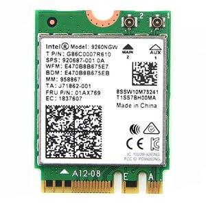 2030 mb/s 9260AC karta WiFi 9260NGW NGFF M.2 802.11ac Bluetooth 5.0 bezprzewodowa sieć lan Adapter sieci MU-MIMO