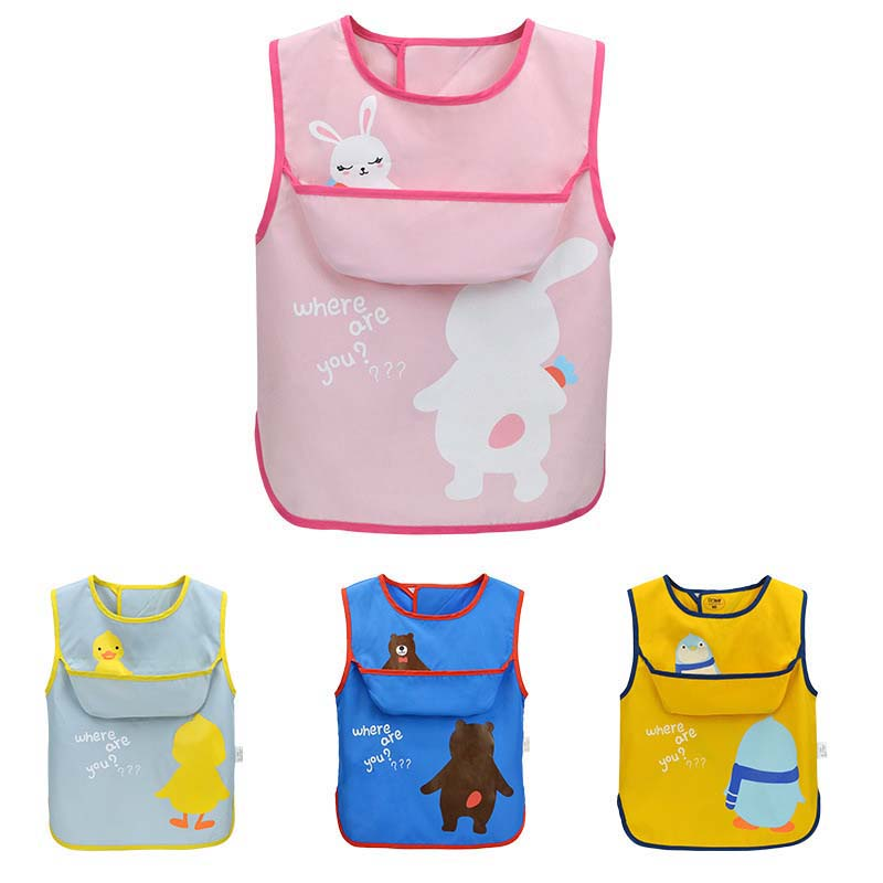 Girl Boy Baby Multi-function Cotton Drool Bibs Cartoon Bandana Kids Premium