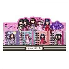 Display 16 keychains mini notebook assorted Gorjuss sparkle & bloom 1047gjd01