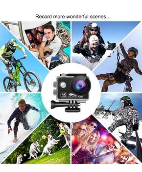 16MP Wifi Action Camera Ultra HD 4K 60fps 2.0'' IPS Screen Sport Camera Go Waterproof Pro Sport DV 170D Wide Angel Helmet Camera