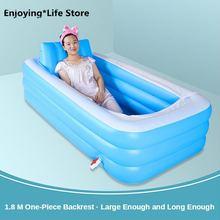 Ванна надувная баррель сауна портативная интегрированная спинка
