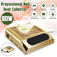 110~220V 80W Vacuum Cleaner Strong Power Nail Dust Collector Nail Fan Tools 40W Suction Professiona Suitable For Nail Salon