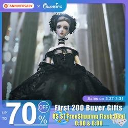 Кукла 1/4 Black Swan BJD SD, 48,5 см, для девушек, тонкая, без глаз, Модный магазин