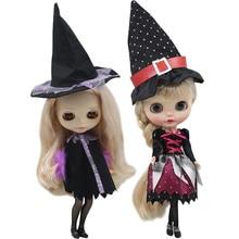 Roupas para boneca Blyth Witch magic suit Halloween terno para 1/6 BJD azone ICY DBS