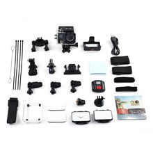 G91 4K Ultra HD 1080P Mini 30m Waterproof Wifi Remote Action Cam Dual LCD Display Angle