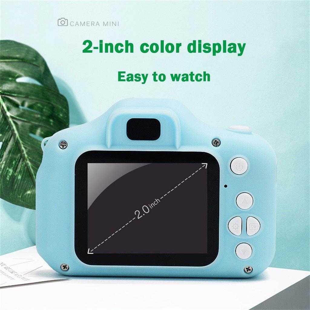Kids Mini Digital Video Camera Portable Camcorder Children's Digital Camera 2.0 LCD Camera HD 1080P Children's Sports Camera
