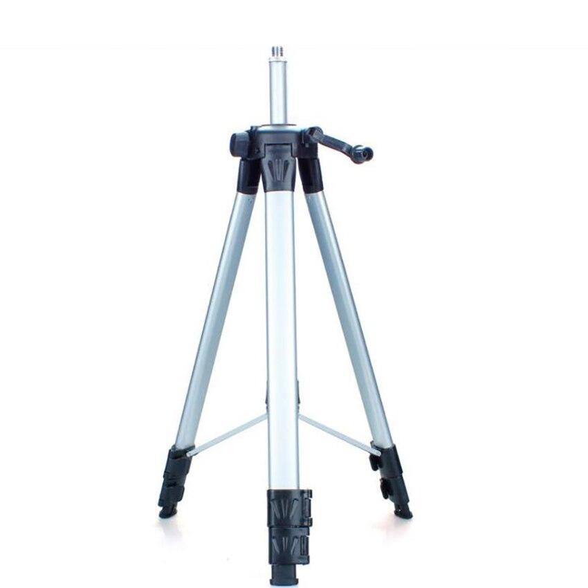 1,2 м легкий лазерный уровень 3-опорные ножки с сумкой Алюминий сплав Телескопический кронштейн, 5/8 ''нитки, для лазерного нивелира и Камера