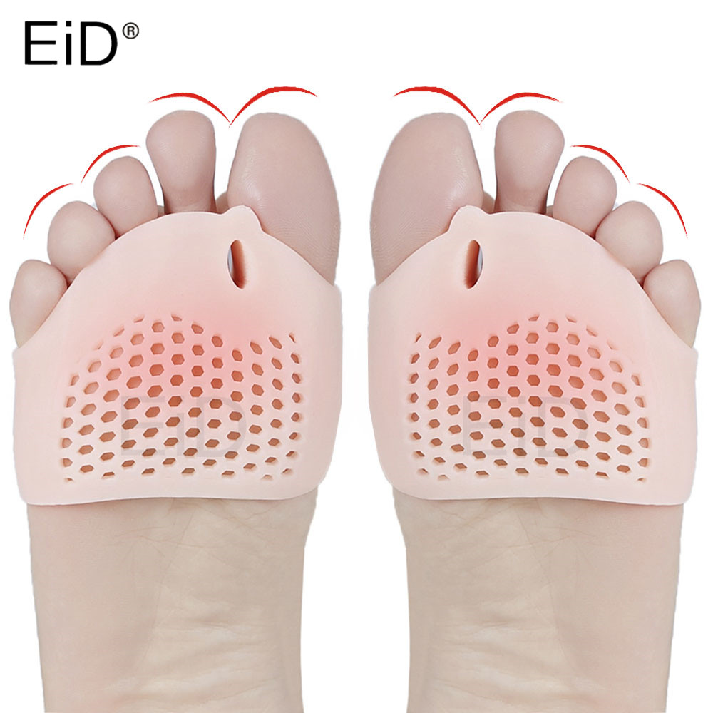 Insoles All Toe Big Bone Pads For Women High Heel Shoes Foot Blister Care Toes Insert Pad Silicone Gel Insole Foot Pain Relief