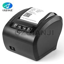GZ8002 80mm תרמי קבלת מדפסת אוטומטי חותך מסעדת מטבח קופה מדפסת USB + סידורי + Ethernet Wifi Bluetooth מדפסת