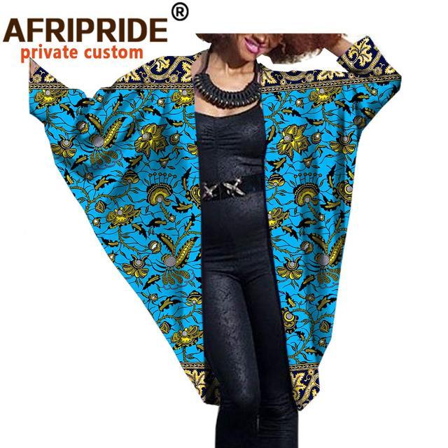 Купить 2020 модное африканское женское пальто летучая мышь afripride картинки