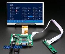 7-дюймовый экран 1024*600, ЖК-монитор TFT с платой дистанционного управления 2AV HDMI VGA для Lattepanda,Raspberry Pi Banana