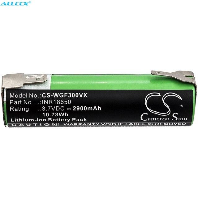 Cameron Sino 2900mAh Battery for Alpina AGS 60 Li, For Atika GSCT 3.6,For Black&Decker AS36LN,BDCS 36G,KC360LN, KC36LN,KC460LN