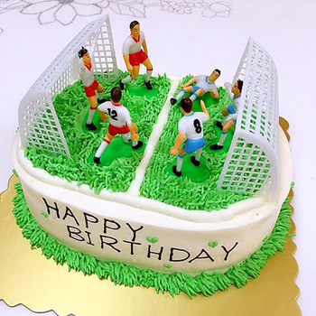 Sensational Best Discount S8Kvq 8Pcs Set Football Game Cake Topper Diy Kids Funny Birthday Cards Online Alyptdamsfinfo