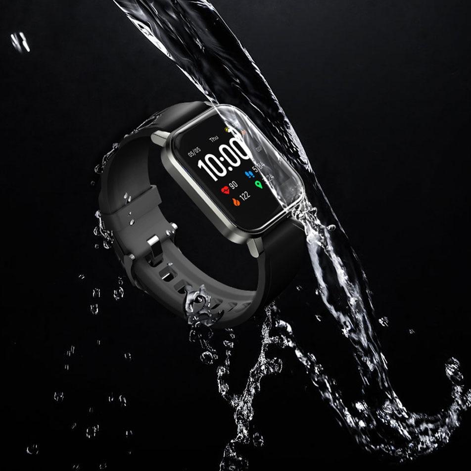 Haylou Solar Mini Haylou LS02 Смарт-часы, IP68 Водонепроницаемые, 12 спортивных моделей, Bluetooth 5,0, спорт, пульс, Monito, английская версия-2