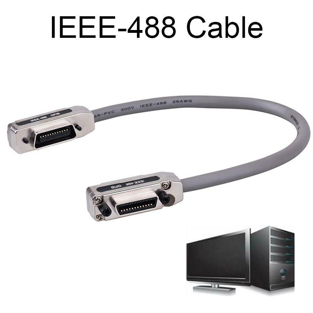 Quality IEEE-488-nickel Plated Aluminum GPIB Data Cable 0.5M 1M 1.5M 3M 5M