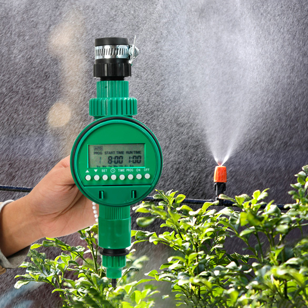 Tap-Connectors Irrigation Drip-Timer Automatic Garden Home Thread-Interface Pipe-Splitter/4-Way