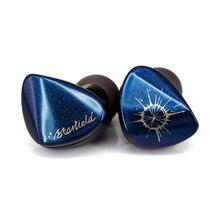 Moondrop ستارفيلد الكربون نانو أنبوب الحجاب الحاجز ديناميكية سماعة خاصة ستوفينج الورنيش الملونة التدرج الألوان