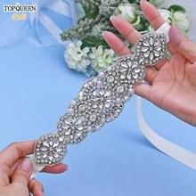 Topqueen s94 пояс для платья женский свадебный невесты Дамский