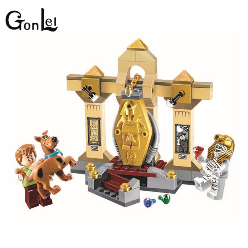 Museo De Scooby-doo 10428 Momia Tapiceria Bloque De Construccion Modelo niños De Legoinglys Scooby Doo Maravillo Juguetes