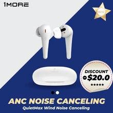 1MORE Comfobuds Pro ANC TWS Ruído Cancelar fone de ouvido bluetooth sem fio Quietmax bluetooth 5.0 headset gamer 13.4mm driver baixo aac gaming earbuds