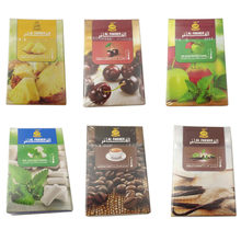 50g Hookah sabores Shisha, accesorios de narguile de agua de alquitrán de la nicotina gratuita de fruta con sabor a menta, por favor comentario sabor específico
