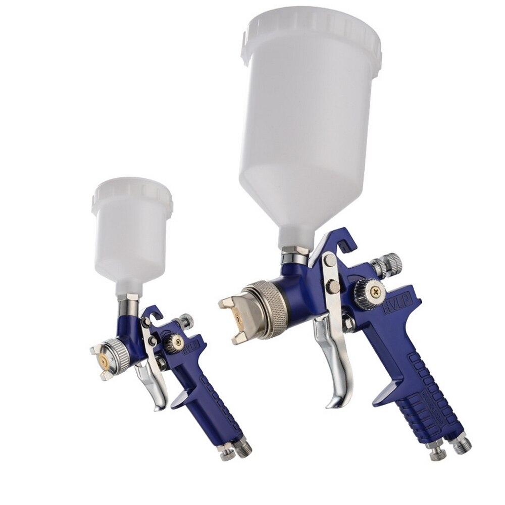 1.4mm 1.7mm 2.0mm Airbrush HVLP Spuitpistool Staal Nozzle H-827 Cars Schilderij Meubels DIY Schilderen Kit Auto auto Reparatie Tool