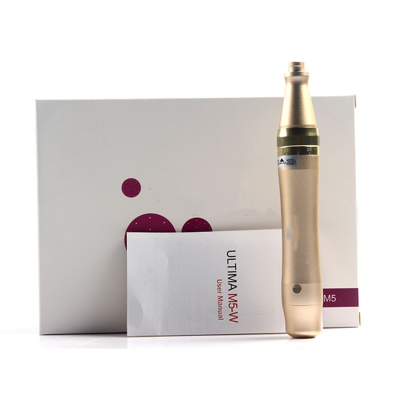 PROFESSIONAL WireLess Derma Pen M5-W Micro Needling Pen Bayonet Prot Needle Cartridges Microneedling Pen Use With 2PCS NEEDLE