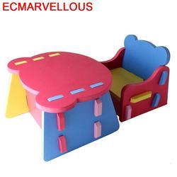 Tavolino Bambini Gioco da Bambini E Sedia Kindertisch Y Silla Scuola Materna Mesa Infantil Enfant Kinder di Studio Per I Bambini Da Tavolo Per Bambini