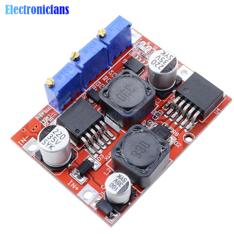 XL6019 Replace LM2577S LM2596S Step Up Down Boost Buck Voltage Power Converter Module Non-isolated Constant Current Board 15W 3A