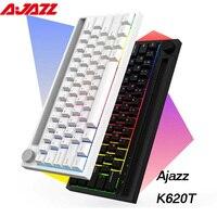 Tastiera meccanica a doppia modalità Wireless/cablata Bluetooth aj
