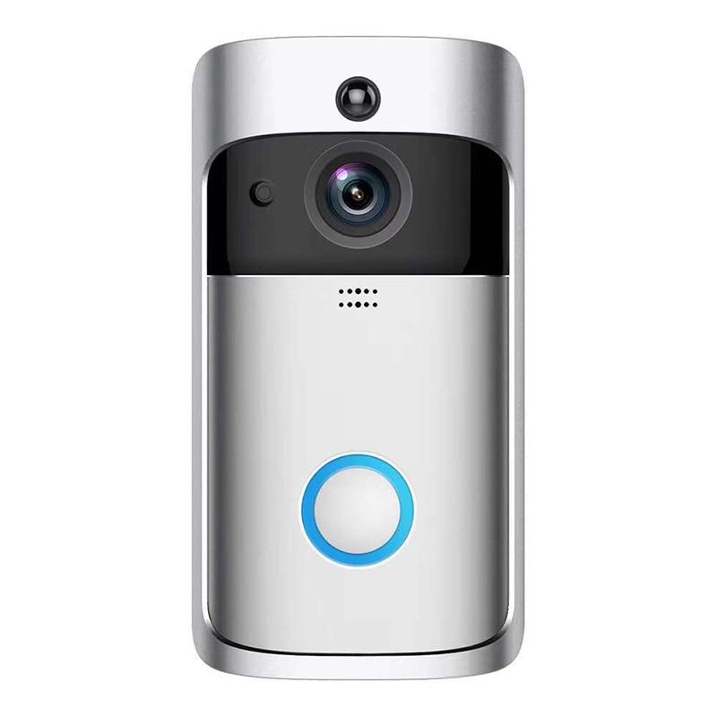 Digital Cat Eye Doorbell With Camera Smart Wireless Doorbell  Security Camera Digital Peephole Wifi Door Video Peephole For Door