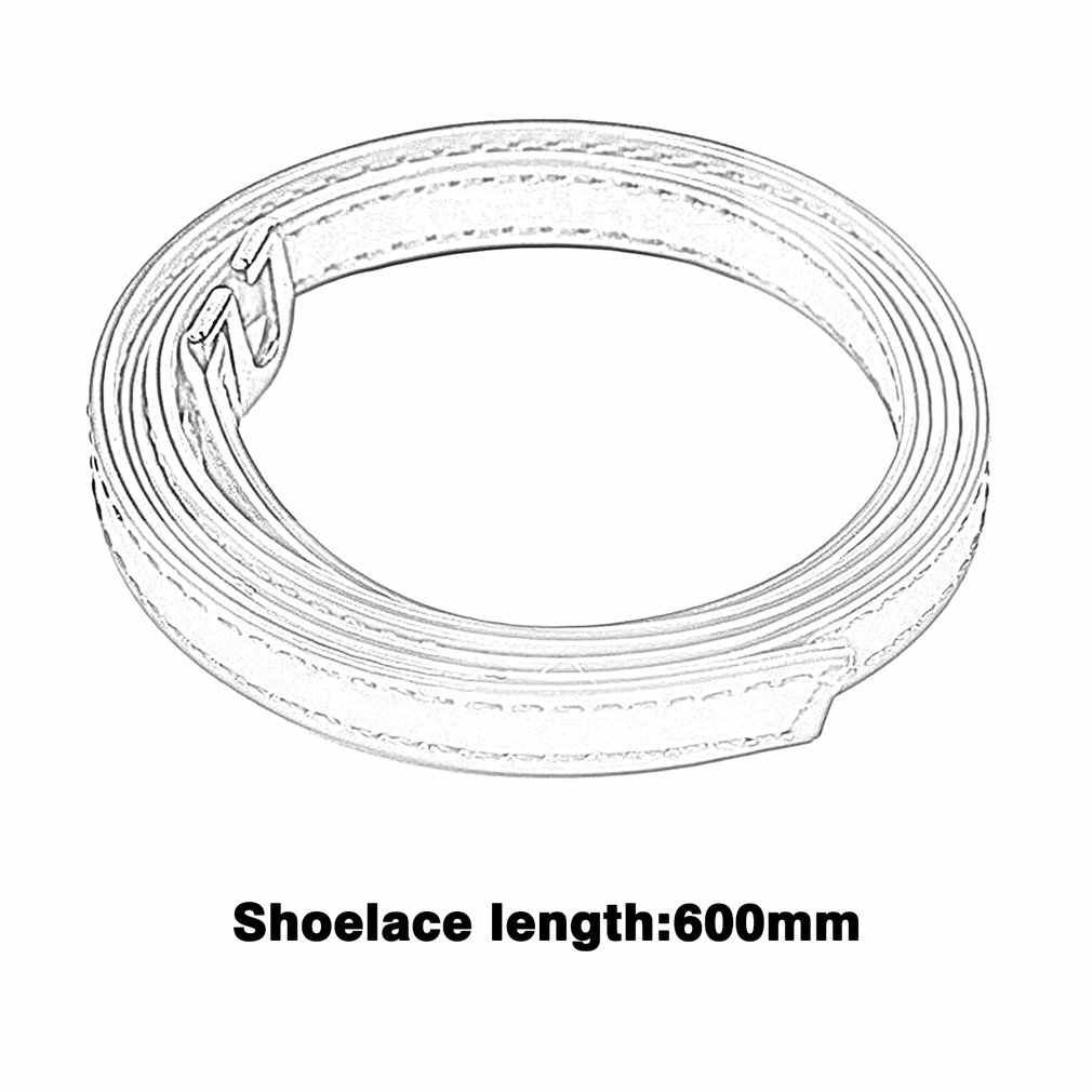 60 センチメートル新ハイヒールフラット靴の安全クリップバンドストラップロック靴革の靴紐ベルトウェディングスポーツ外ユニバーサル