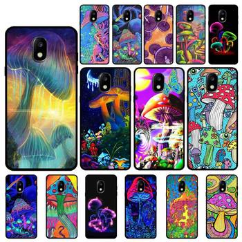 YNDFCNB Trippy Mushroom Phone Case For Samsung Galaxy J7 J6 J6PLUS J8 J4 J4Plus J7DUO J7NEO J2 J5 J6 J7 Prime image