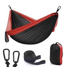 Hammock Hamak Double-Person Garden 2 2-People 44-Color Parachute Flyknit Survival Travel