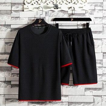 Men Sportswear Sports Suit Gym Fitness Suit Clothing Jogging Suit Sportswear Fitness & Body Building Men Casual Sportswear Suit фото