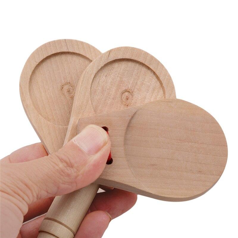 Деревянный ритм-стик для детского сада, Обучающие инструменты, традиционные детские игрушки, музыкальный инструмент, забавные игрушки