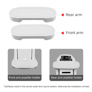 Image 4 - Support de stabilisateur dhélice pour DJI Mavic Mini/Mini 2 Drone lame accessoires fixes protecteur de Transport couverture souple accessoires de montage