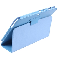 3 p5200 PU Leather Case Cover For Samsung Galaxy Tab 3 10.1 P5200 P5210 P5220 Tablet Colour:Blue (4)